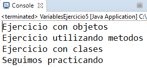 variables en java